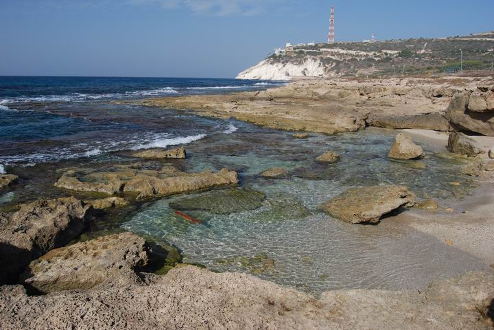 Coast near Khirbet Masref