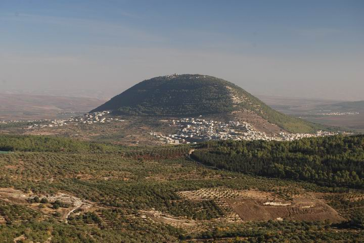 Tabor from Nazareth Illit