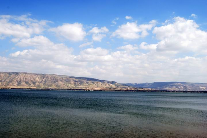 Sea of Galilee - view towards the south-east