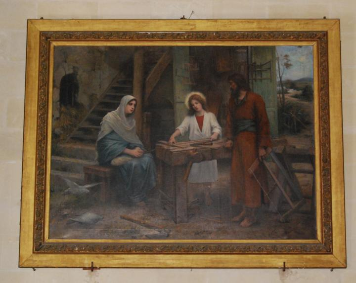 St. Jospeh: painting of the carpenters