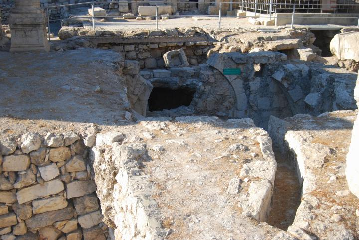 Bethesda: main water channel that fed water to the baths