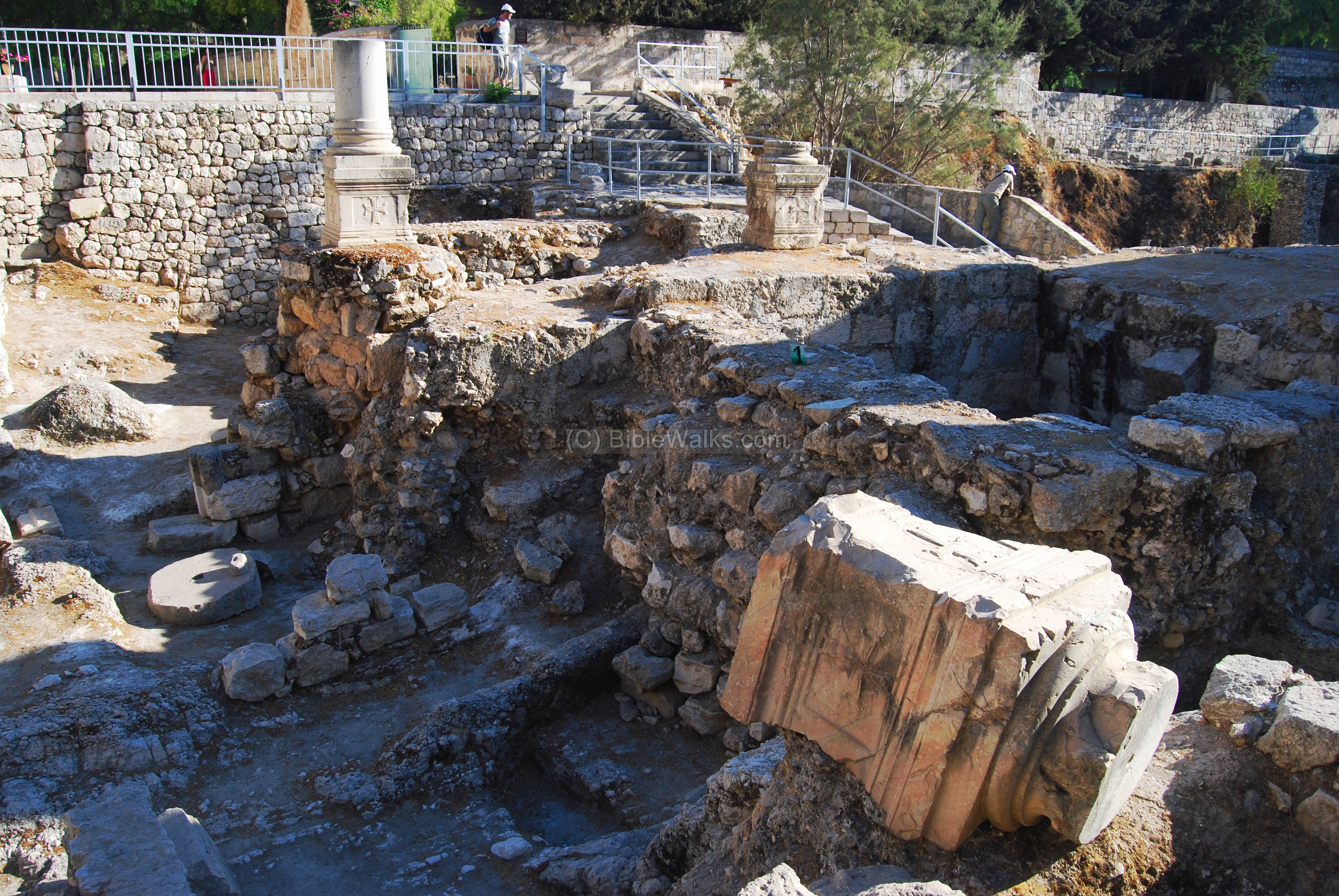 ... in operation during the times of Jesus, called the Bethesda pools