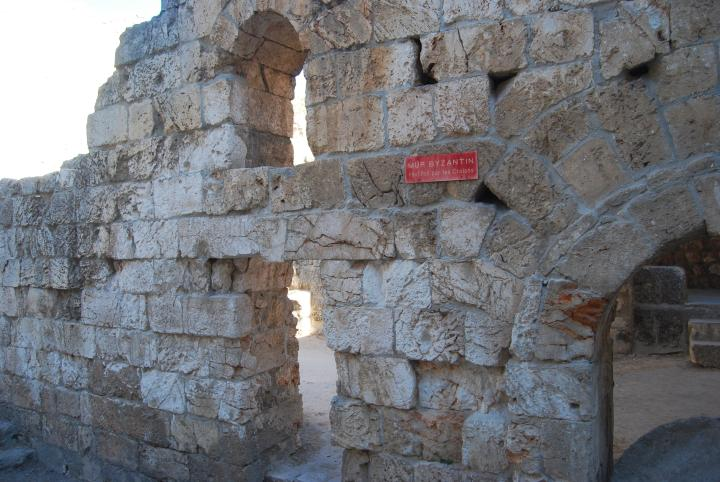 Bethesda: northern part of the Byzantine walls