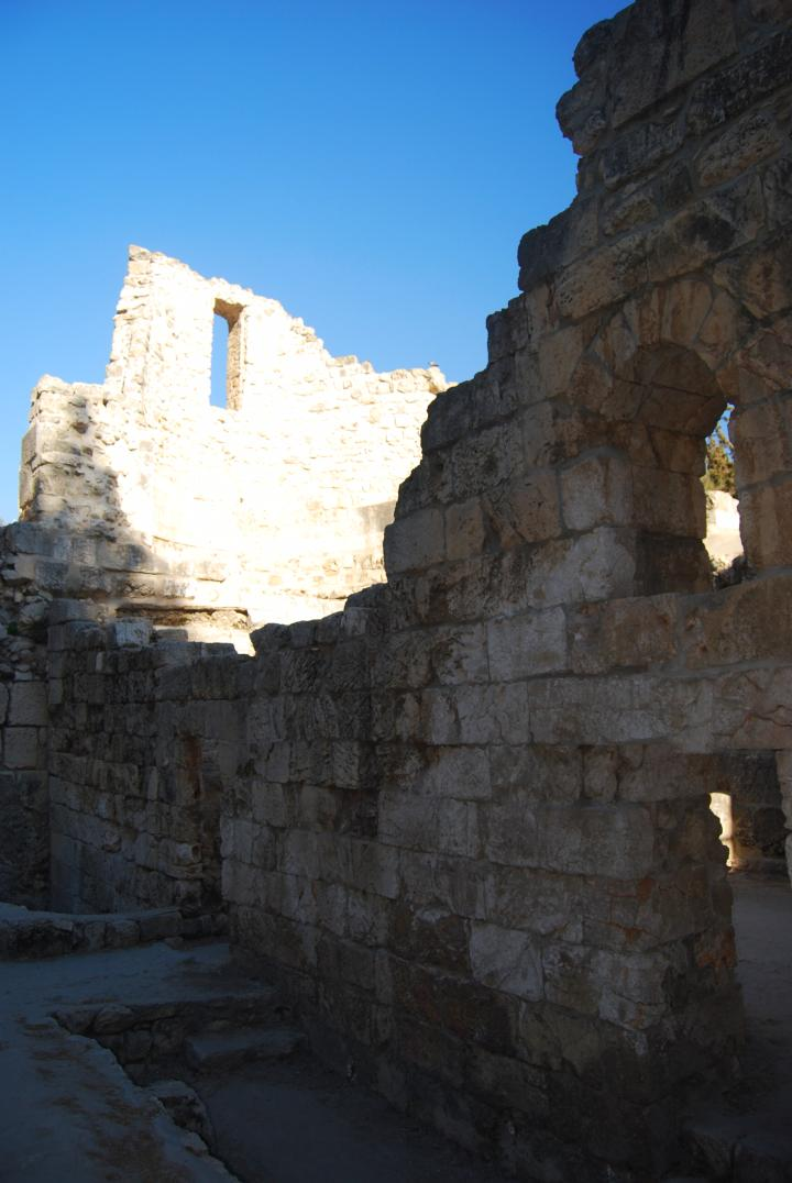Bethesda: Crusader chappel on top of the Byzantine basilica