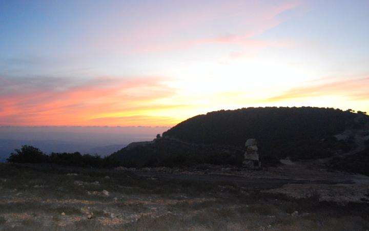 Beit Jan - Sunset view of Mt Ha'ari