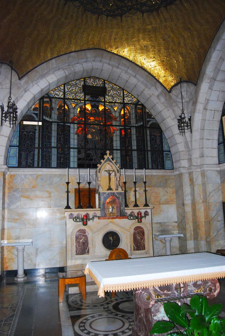 Flagellation church - altar