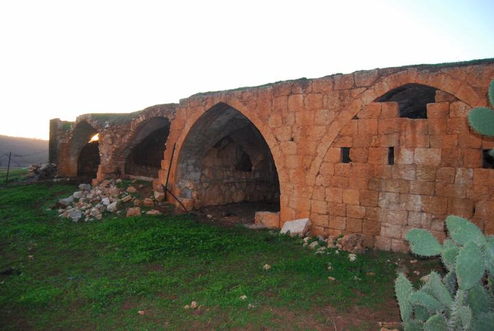 Khirbet BeerSheba: Ottoman structure on the south foothills