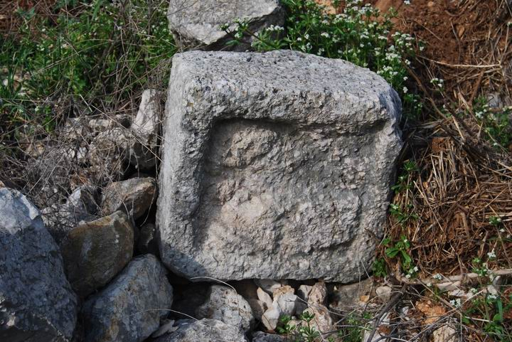 Hurvat (Khirbet) Mehoz - interesting stone