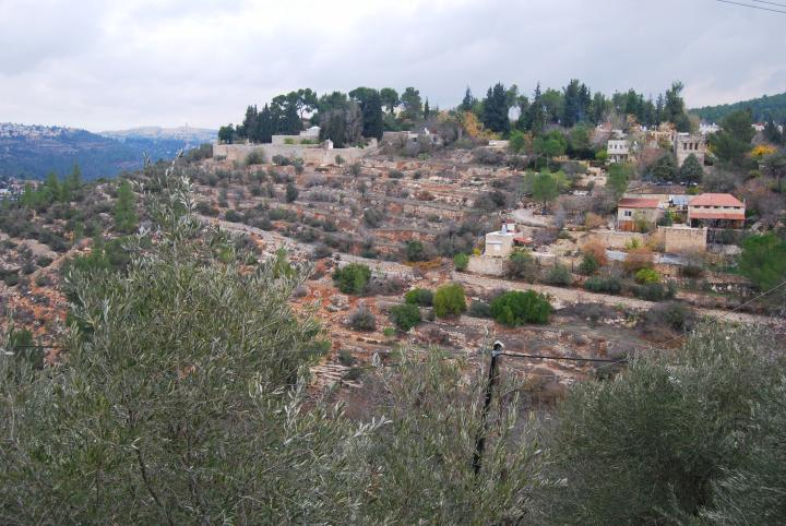 Ein Kerem - view from the south
