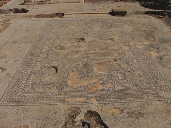 Sepphoris: large public building