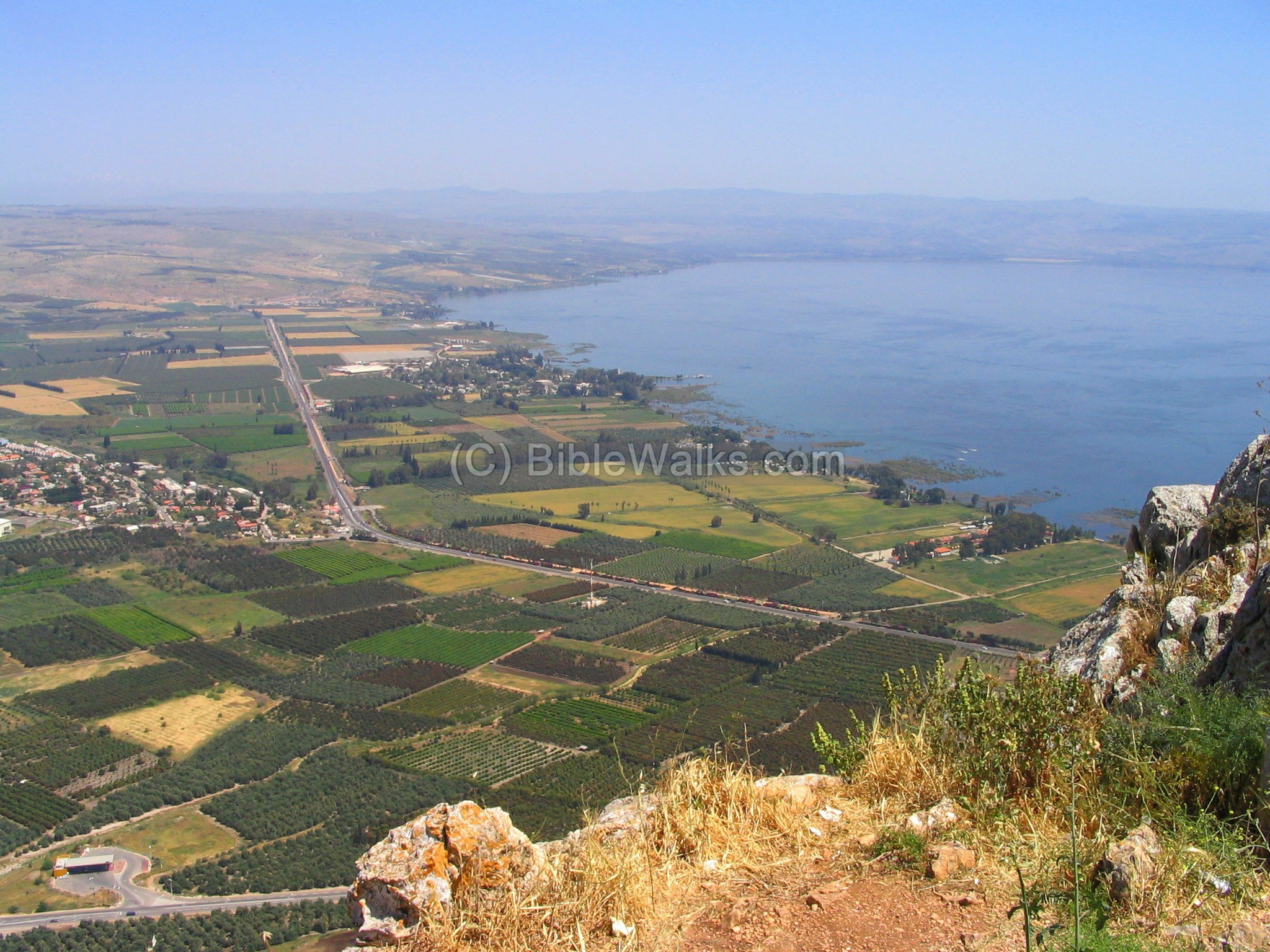 Lake Tiberias: a photo of the sights of Israel 51
