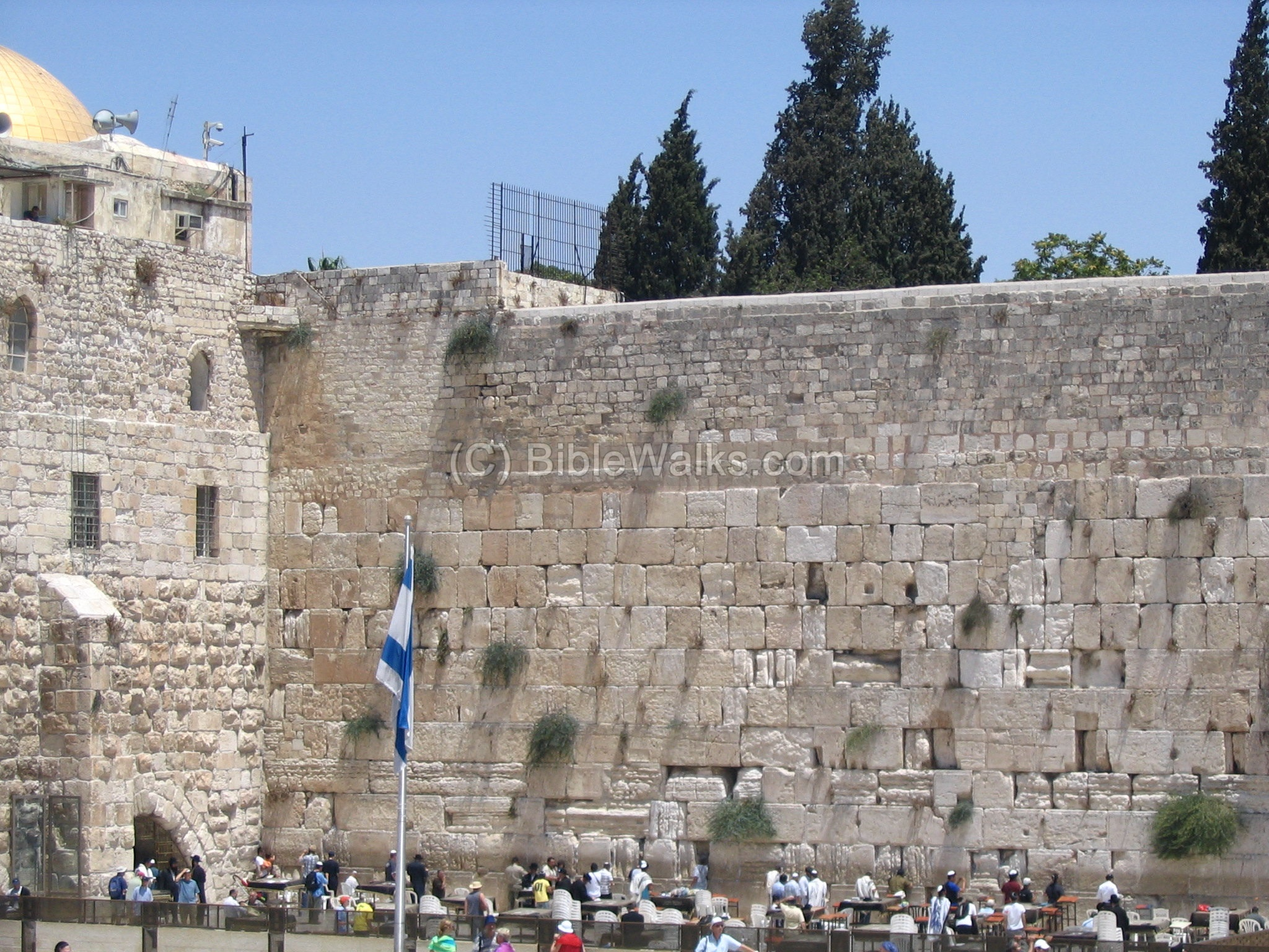 The Wailing Wall (Israel, Jerusalem): a description of why it is so called, how to write a note 26