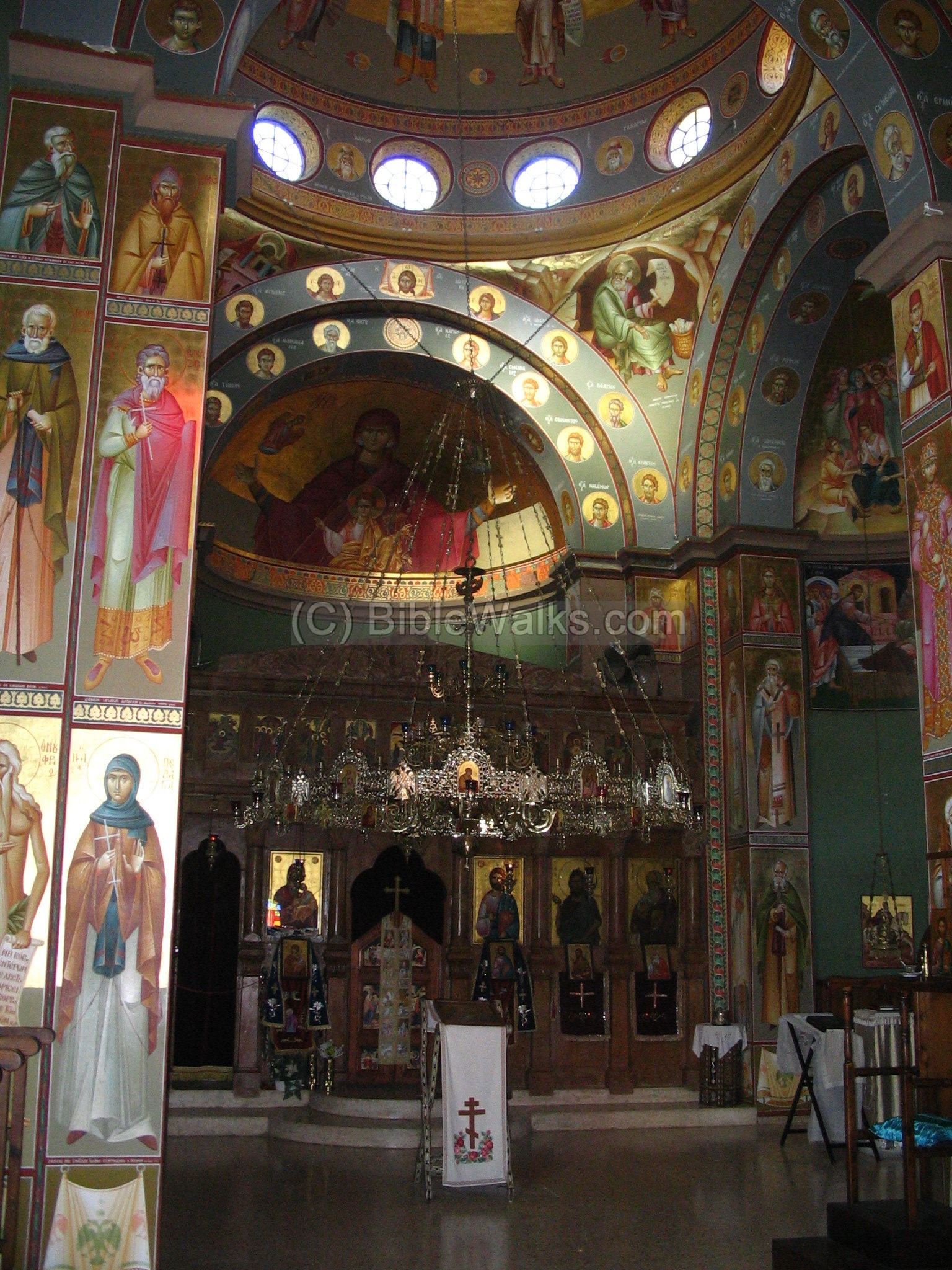 Ancient Church Interior Paintings