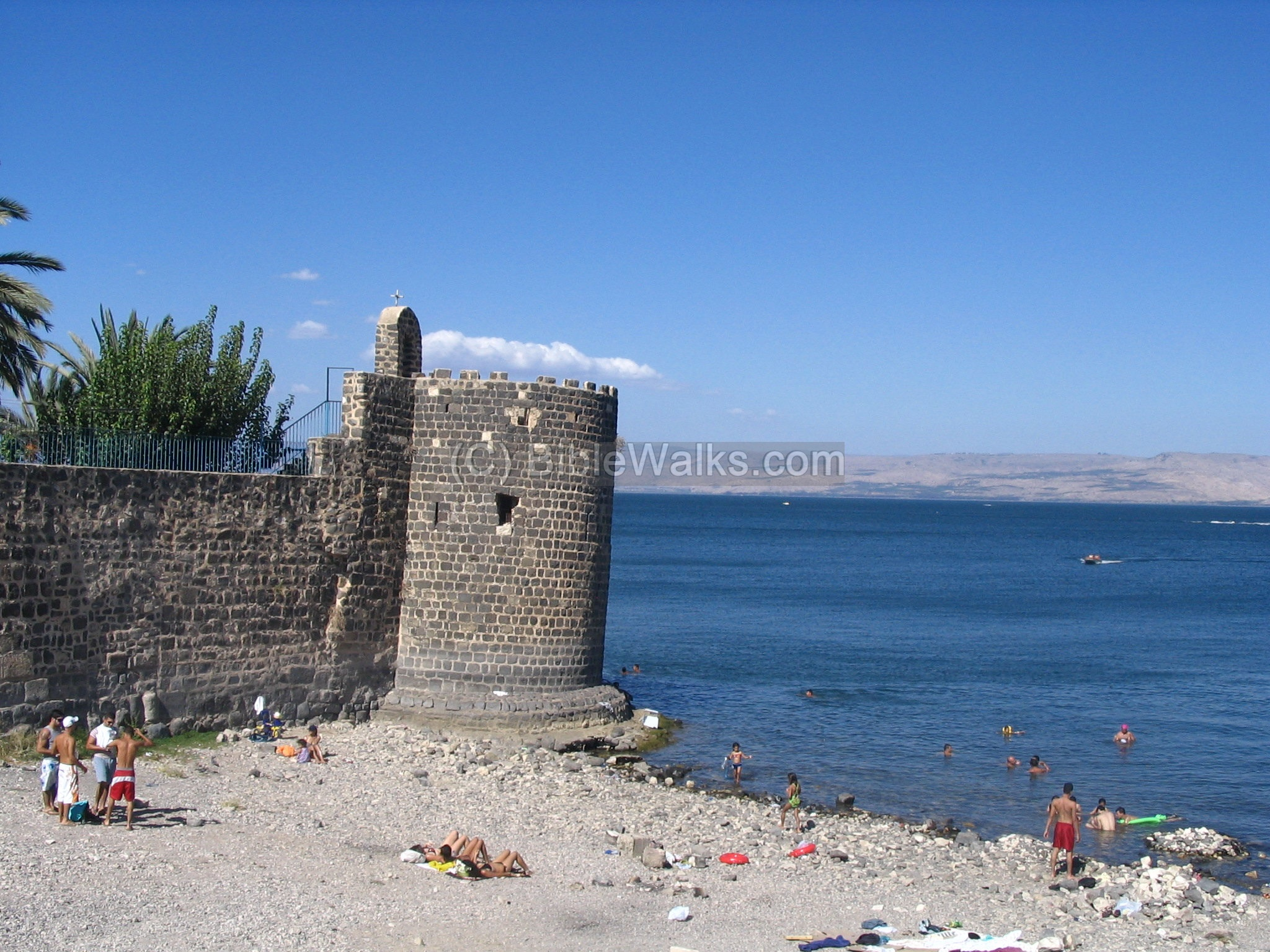 Lake Tiberias: a photo of the sights of Israel 63