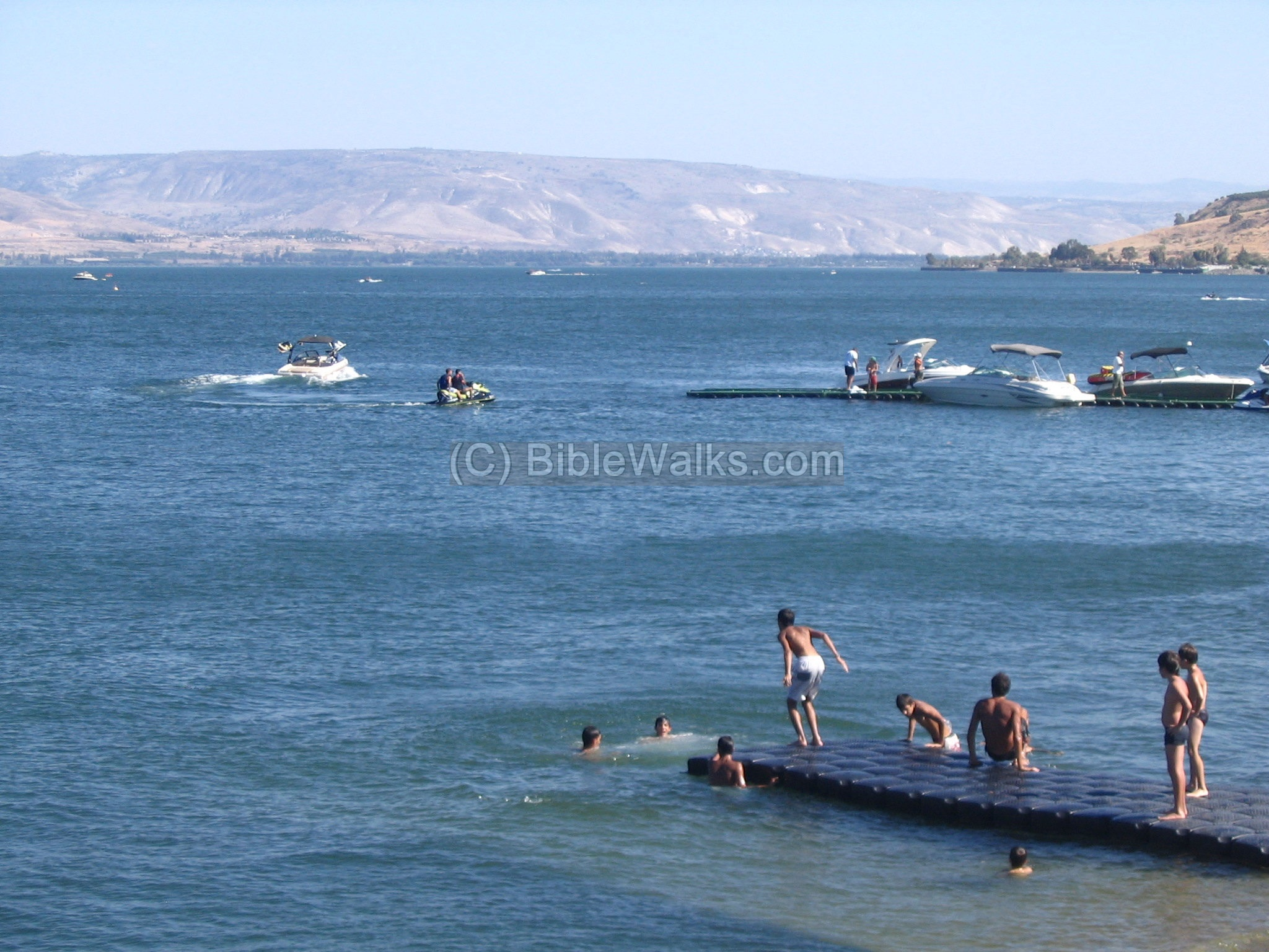 Lake Tiberias: a photo of the sights of Israel 78