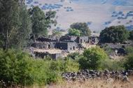 Kefar Yehudiyah in the central Golan heights