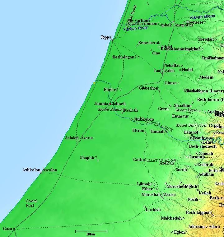 Lod Israel Map Overview of Lod (Lydda)