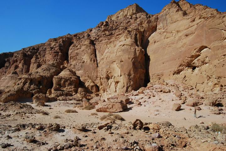 "Timna: The ""chariots"" rock drawing site"
