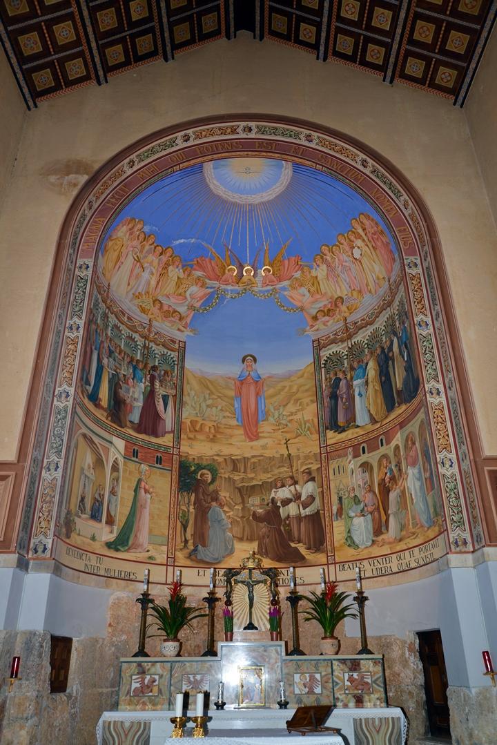 Visitation Church In Ein Kerem