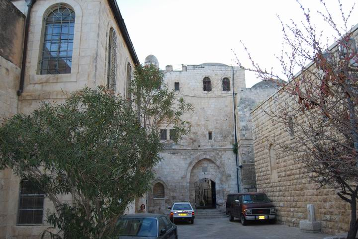 Entrance to King David's tomb