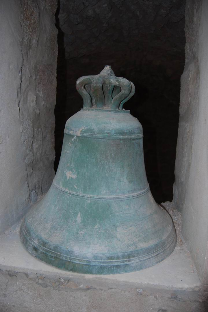 The old bell from the bell tower.