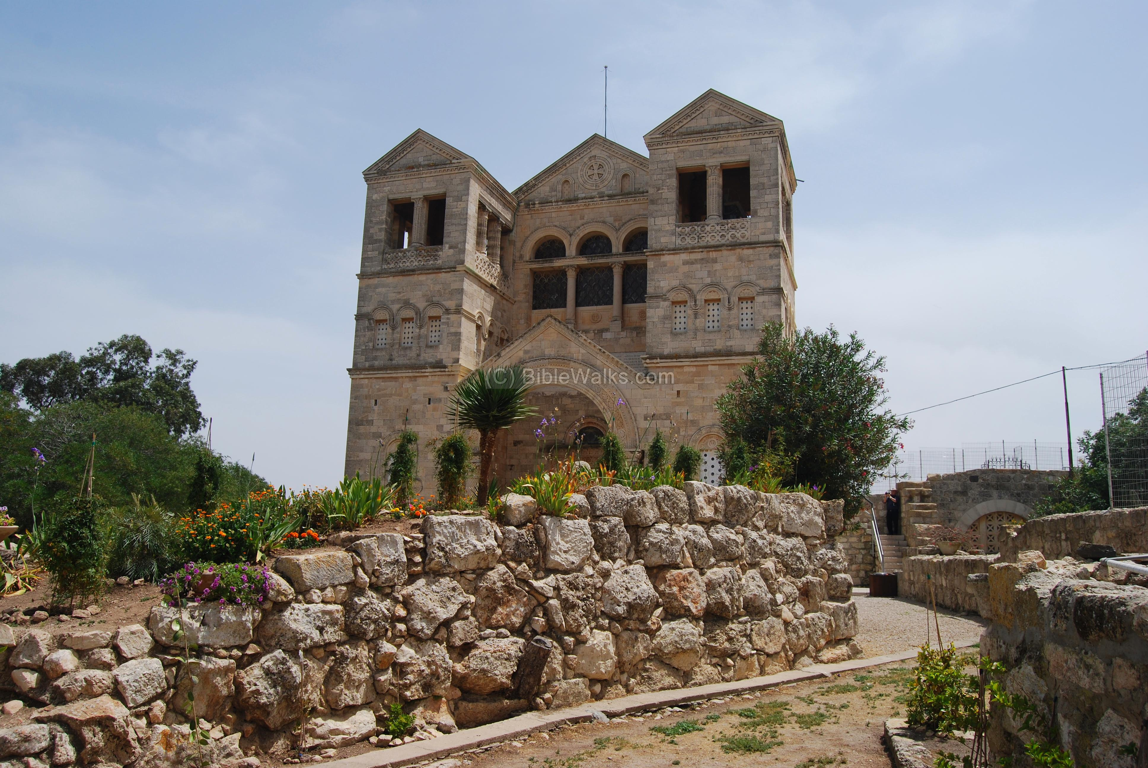 Holy Mount Tabor - Place of the Transfiguration 72