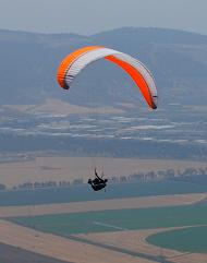 Gliders over the Jezreel valley.