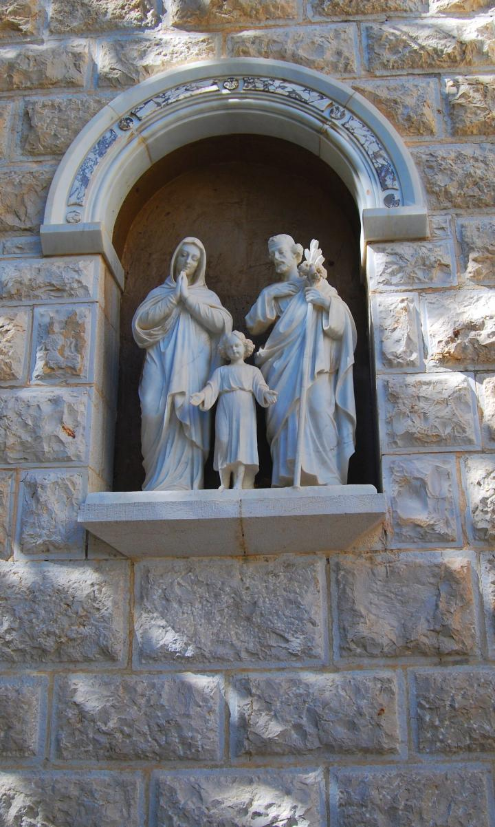 St. Joseph church: The Holy family