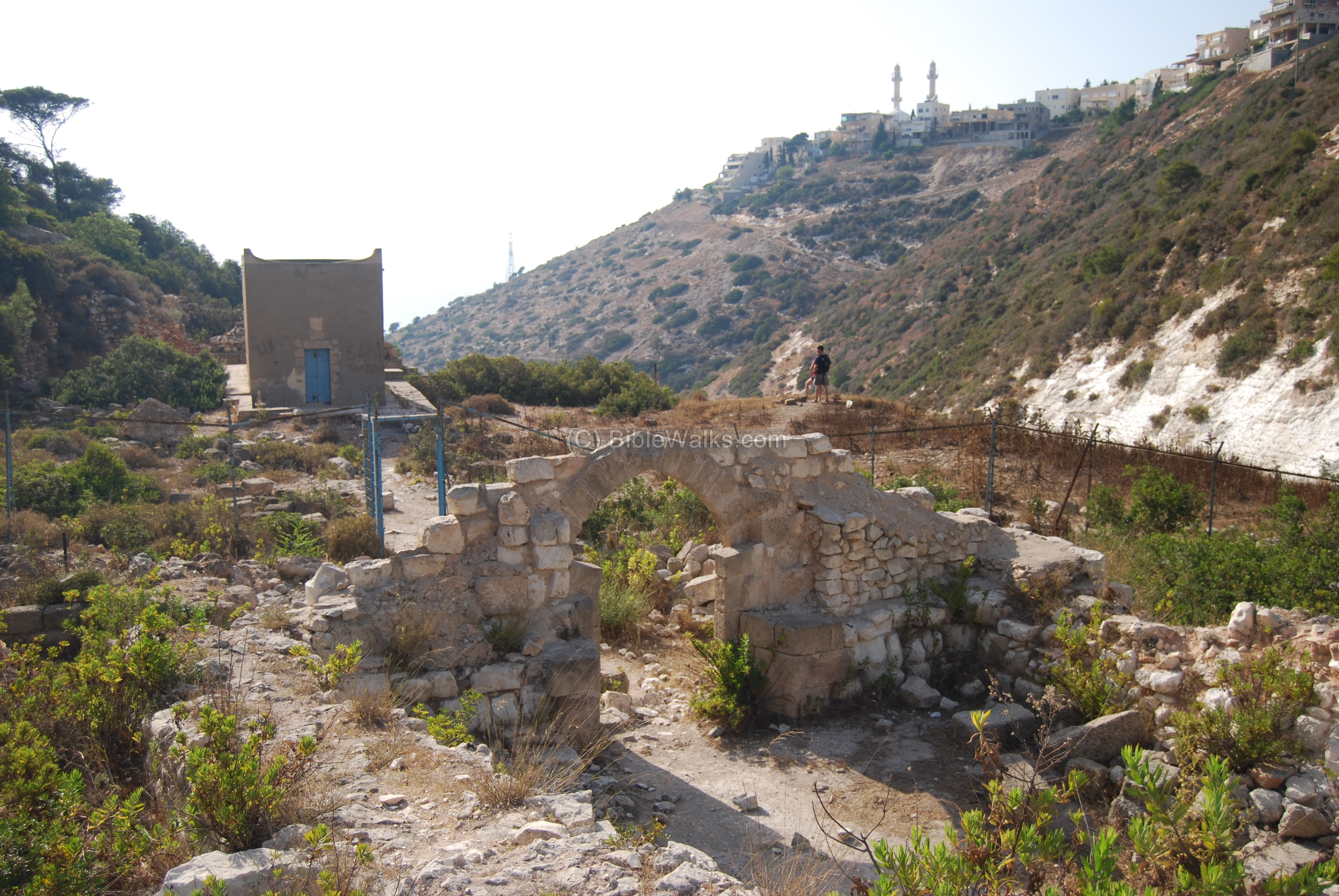 Siah brook - ruins of a Carmelite Monastery