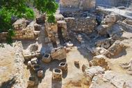 Pools of Bethesda, Jerusalem, brought water to the temple
