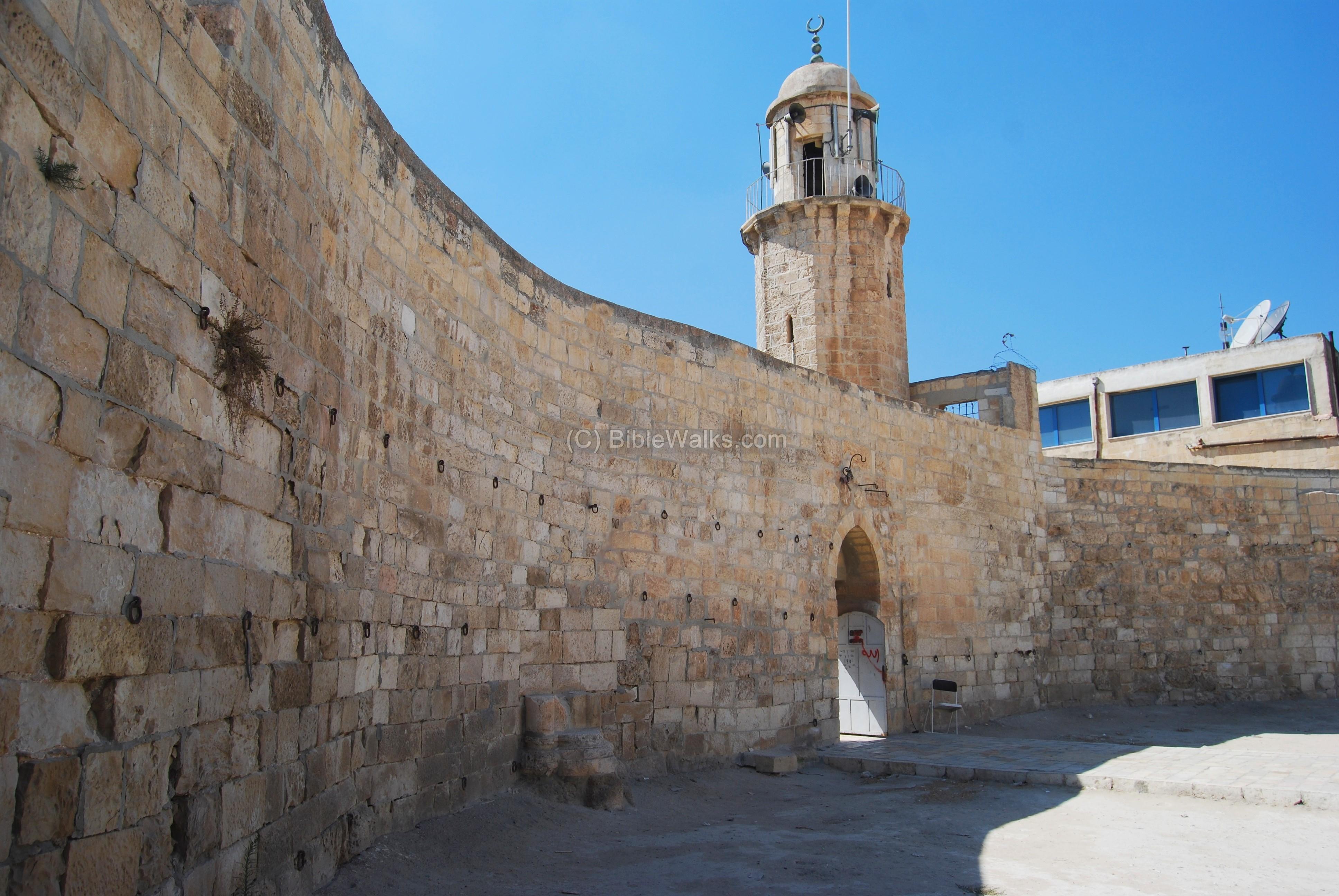 Chapel Of Ascension Mt Olives