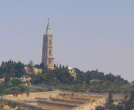Mount of Olives - the area of the convent