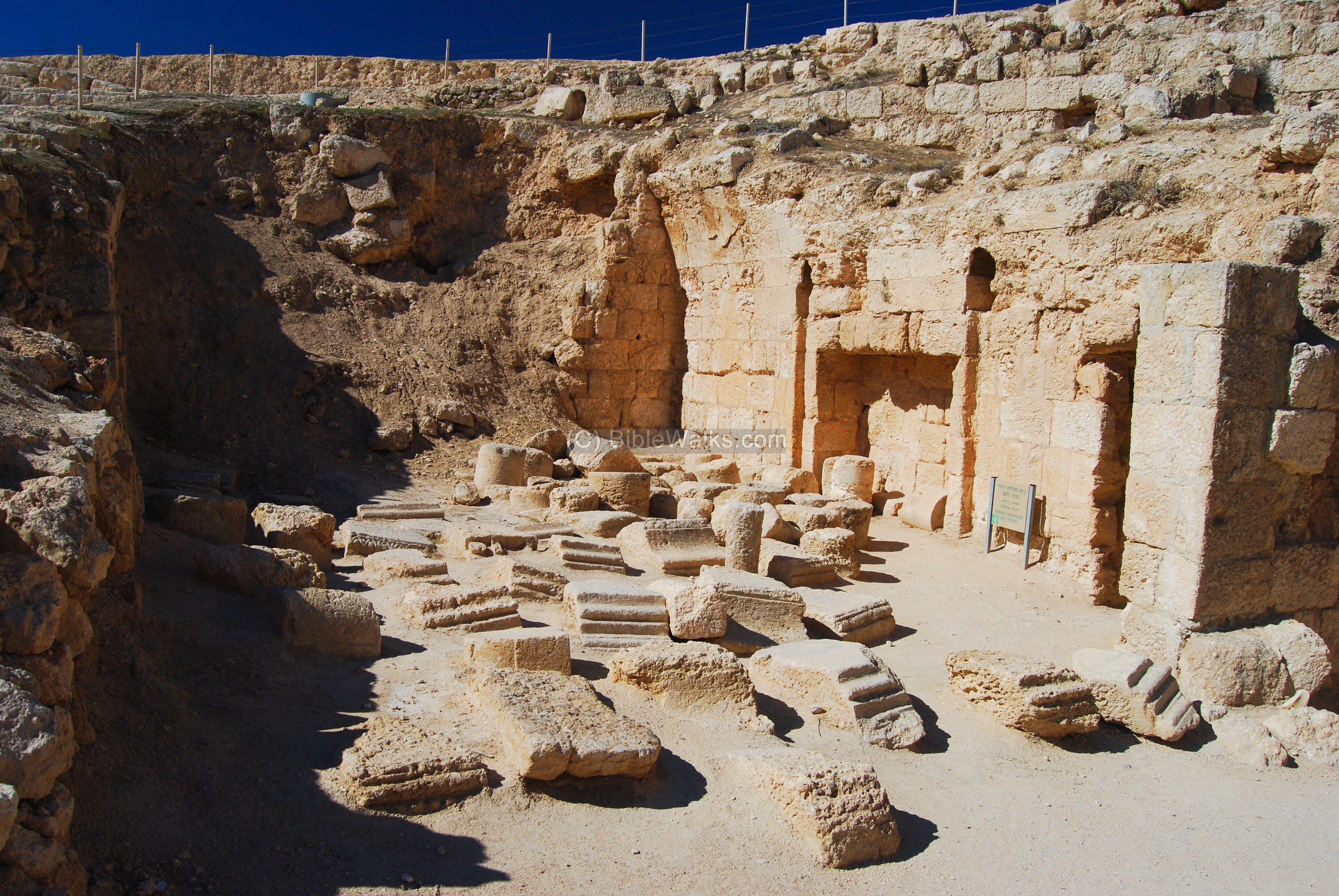 Herodion The Castle And Tomb Of King Herod