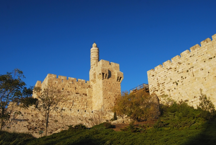 Tower of David, view from the south-west