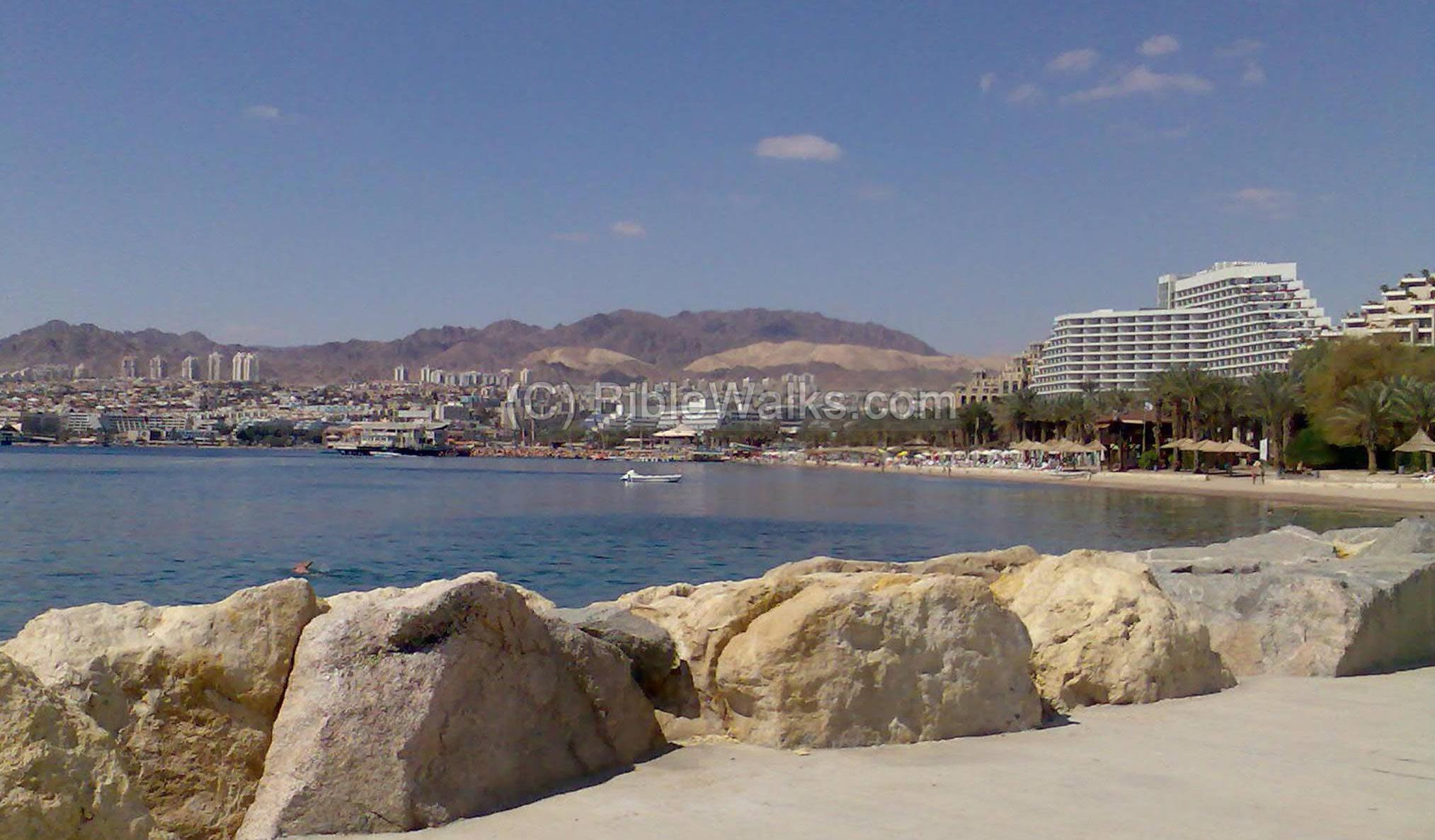 Eilat - the southern city on the red sea