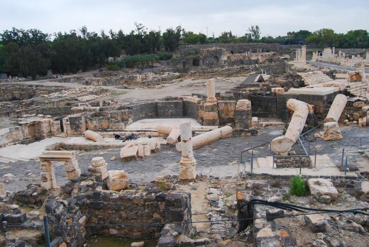 Beit Shean - Nympheon