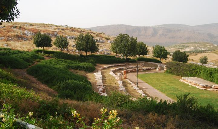 Khirbet Kabra and Givat ram