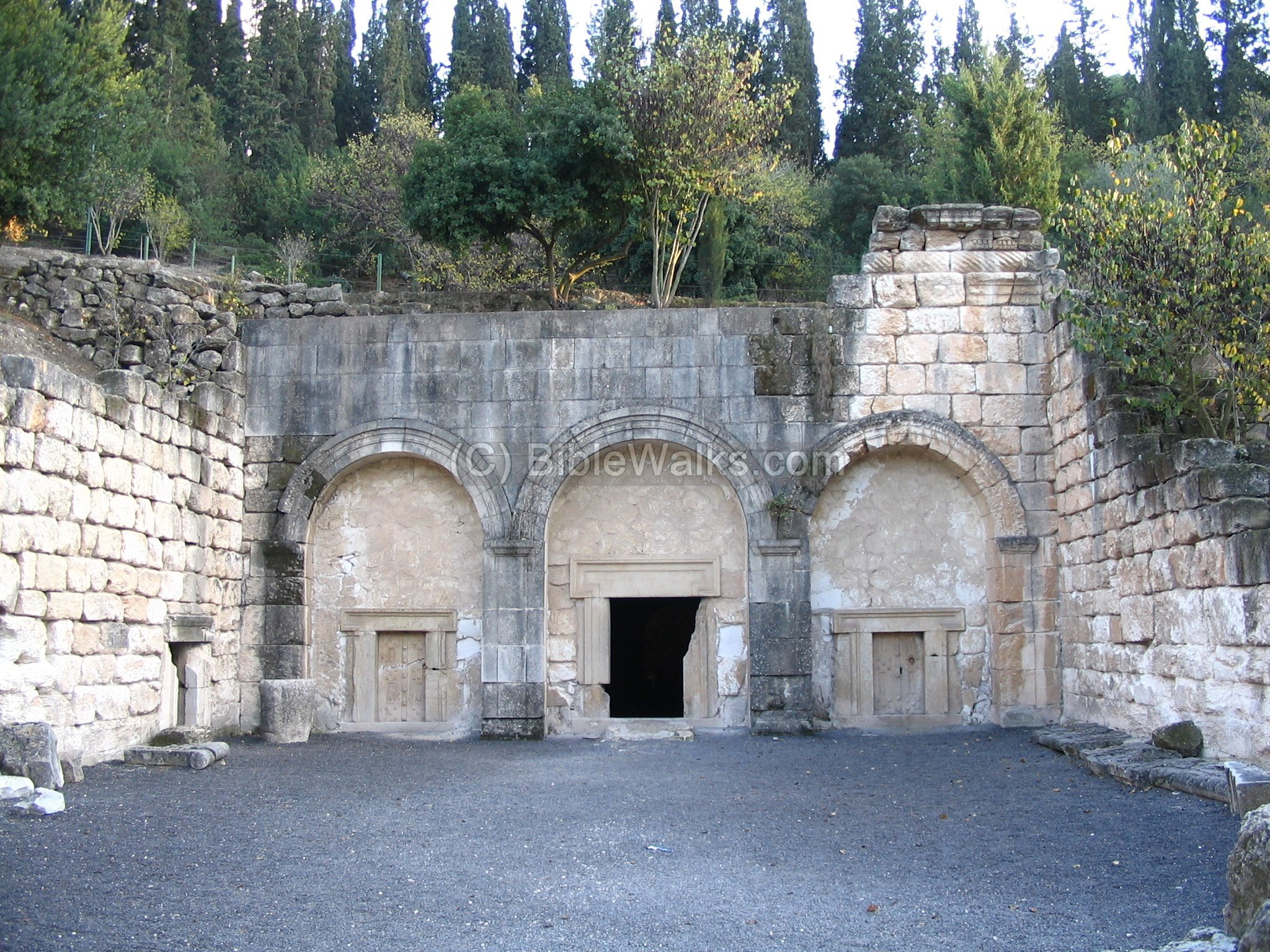 Catacombs in Beit Shearim