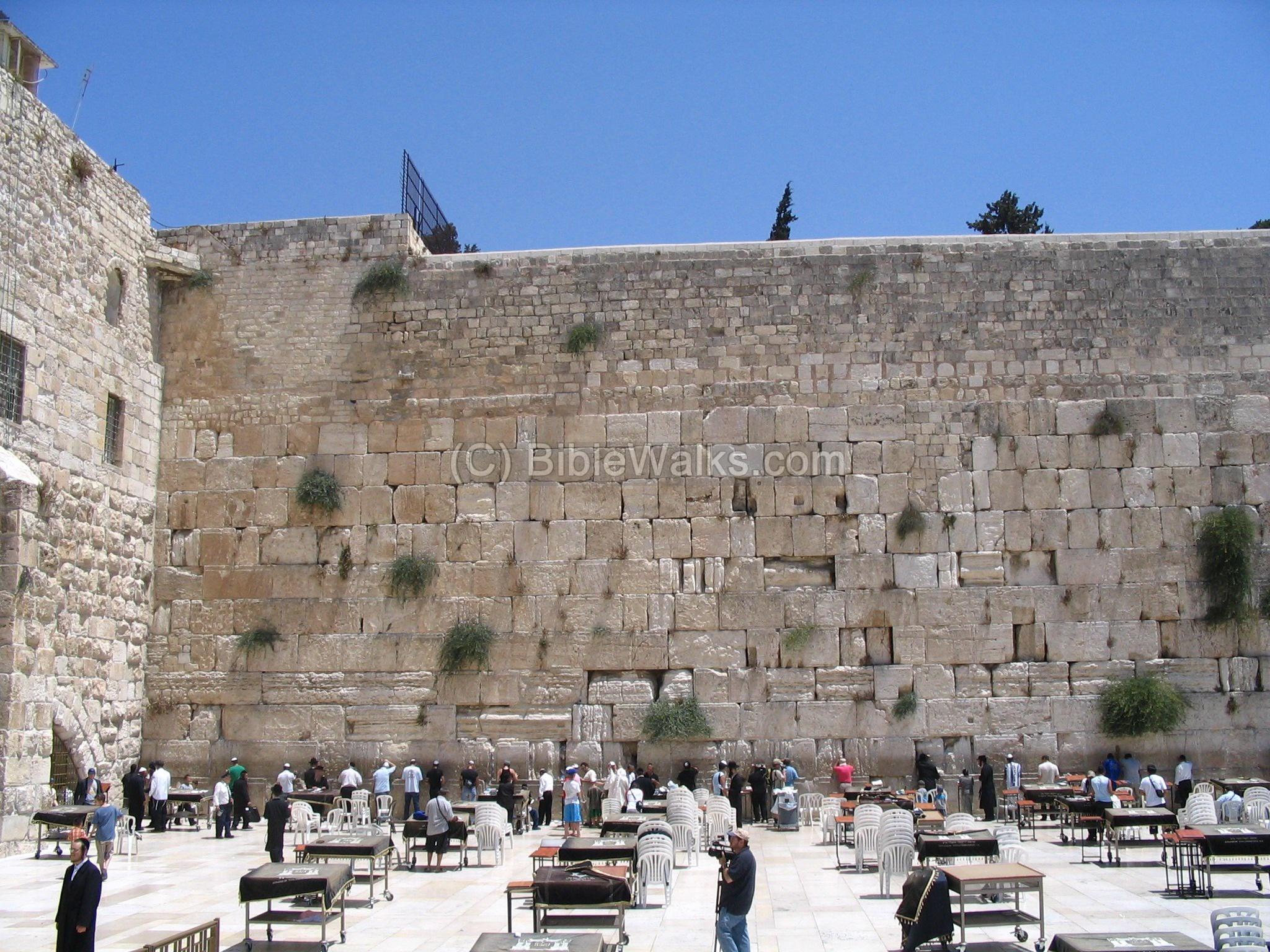 The Wailing Wall (Israel, Jerusalem): a description of why it is so called, how to write a note 78