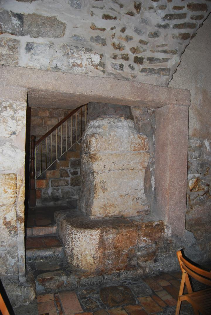 Roman column in the 7th Station