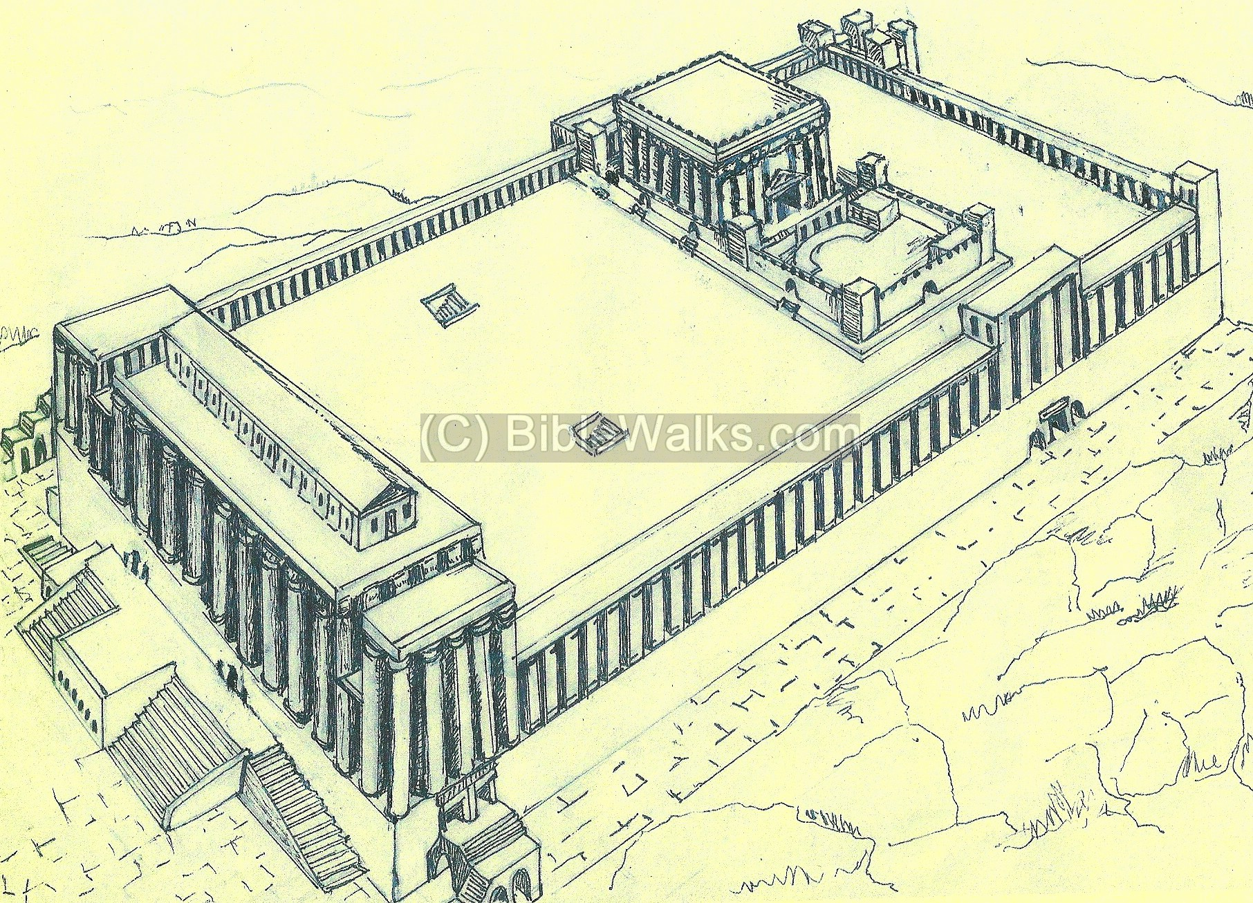 Diagram Of Temple Mount - Get Wiring Diagram