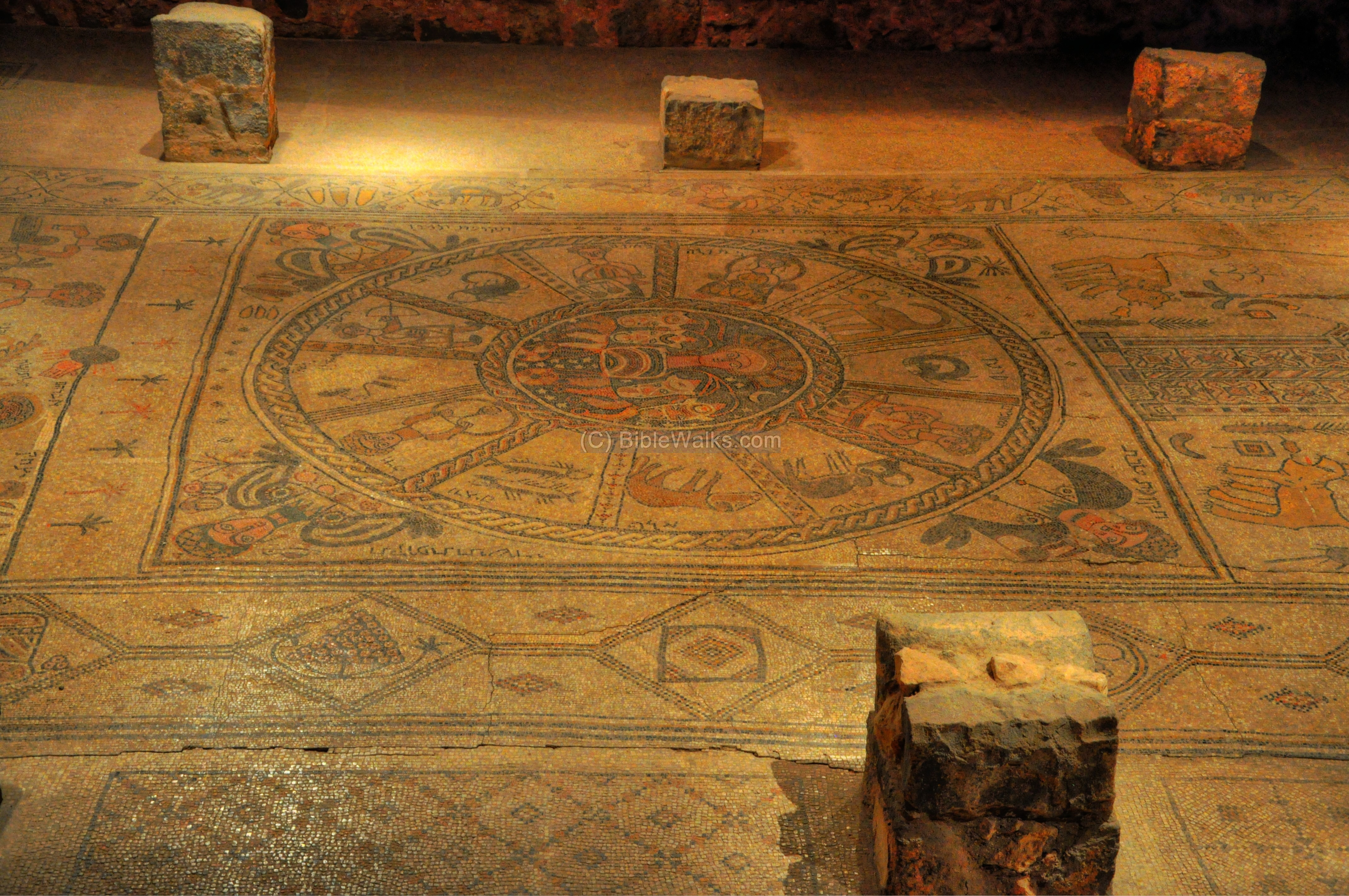 Beit Alpha Ancient Synagogue And Zodiac Mosaic