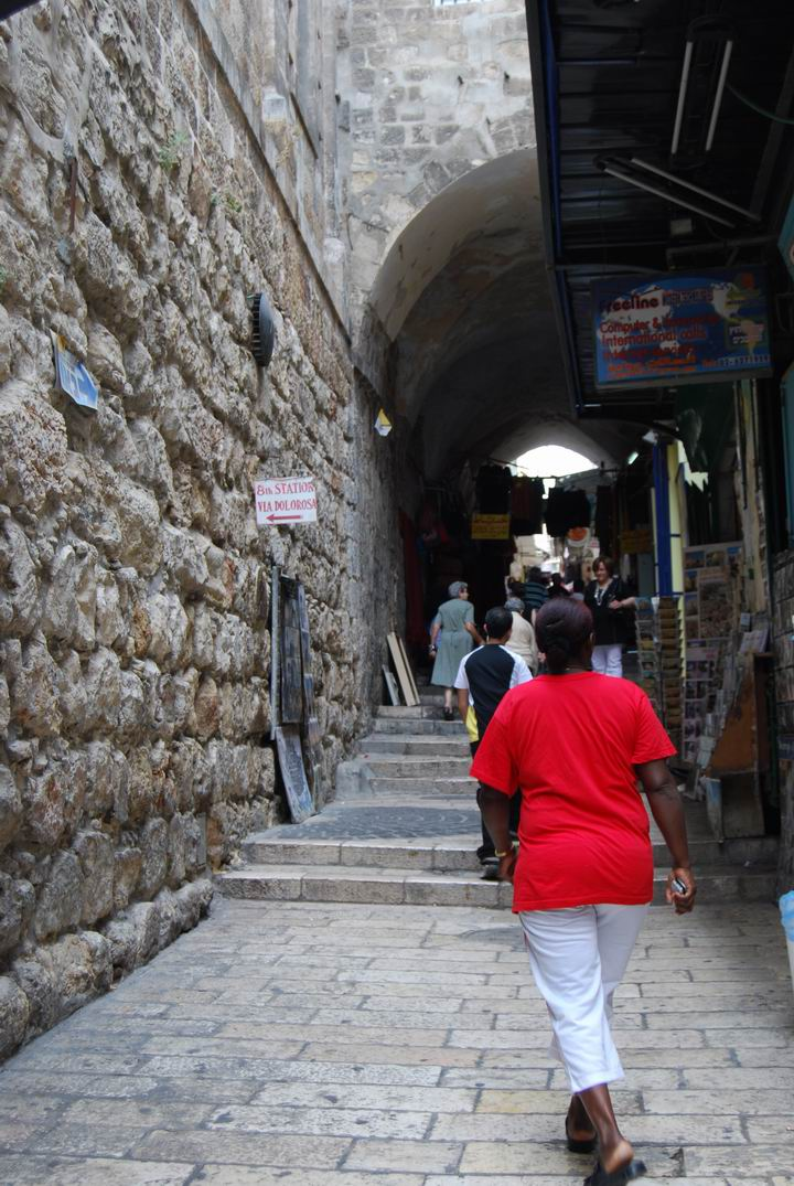 Via Dolorosa - station 8