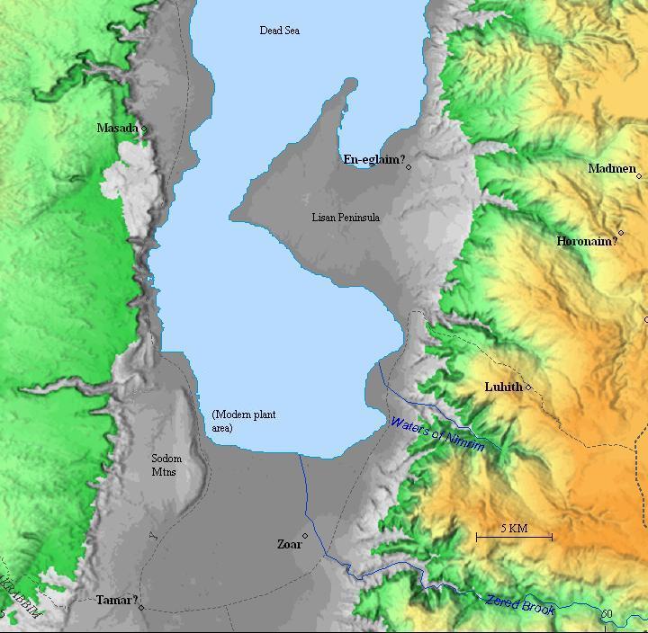 Dead Sea Dead Sea On The World Map on